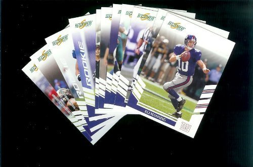 New York Giants Football Cards - 3 Years of Score Complete Team Sets 2006,2007, 2008 - Includes Stars like Eli Manning, Rookies & More - Individually Packaged!