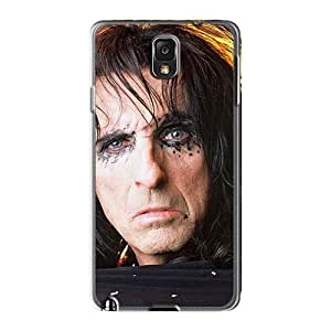 EricHowe Samsung Galaxy Note3 Durable Hard Phone Covers Support Personal Customs Fashion Alice Cooper Band Image [qfa14778BMun]