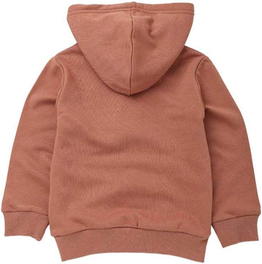 Dream/_mimi Unisex Baby Long Sleeve Solid Color Hooded Pocket Top Cute Casual Sweatshirt