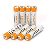 AAA Rechargeable Batteries, 1000mAh Ni-MH All-Purpose Triple A Battery for Household and Business - 8 Count