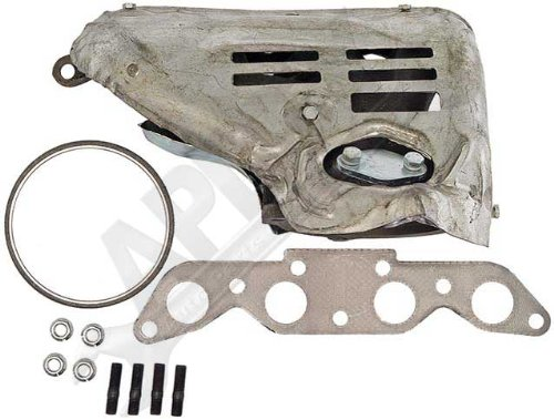 APDTY 785667 Exhaust Manifold /& Heat Shield Kit W//California Emissions Replaces 17141-16290, 94853663, 1714116290 Fits 1993-1995 Geo Prizm Or Toyota Corolla /& 1994-1995 Toyota Celica 1.8L Engine