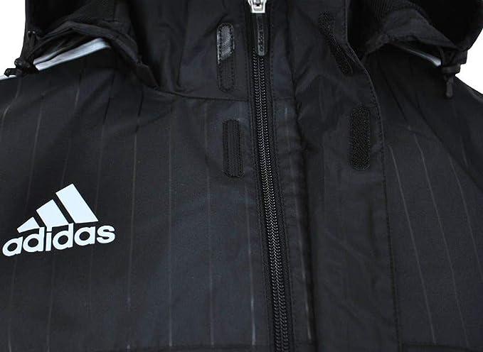 2c28f0d73 adidas Men's Tiro 15 Rain Jacket Rain Coat, Men, Tiro 15 Rain Jacket,  black/white, 2XLT: Amazon.co.uk: Sports & Outdoors