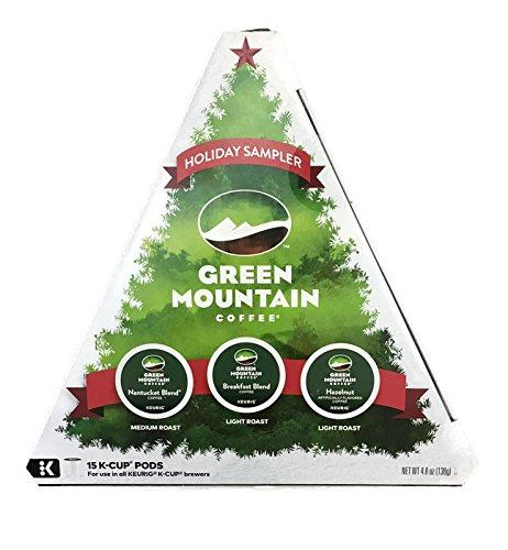 Keurig, Christmas Tree Variety Pack, K-Cup Packs, 15 Count