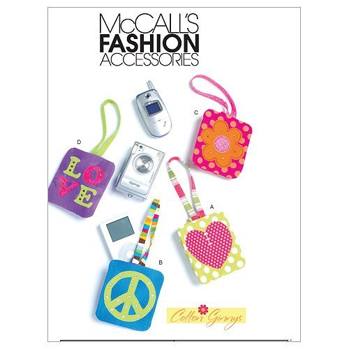 McCall's Patterns M6215 Cell Phone and Mp3 Player Cases In 2 Sizes, One Size Only by McCall's Patterns ()