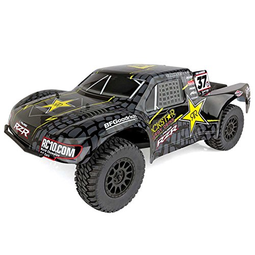 - Team Associated 70015 ProSC10 Rockstar Ready to Run Brushless 2WD Short Course Truck