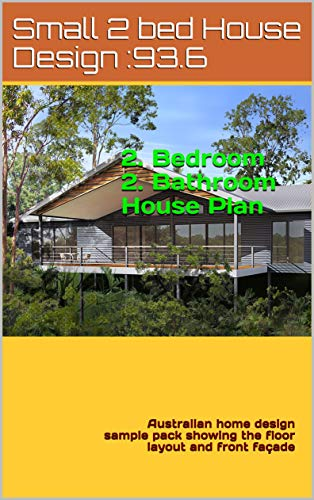 Small House Plan 2 Bedroom 2 Bathroom Plan 93 6: Australian home
