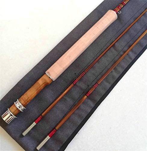 - GUFIKY Fine-Crafted Handmade Bamboo Fly Rod 7ft,4wt,2 Pieces Medium Fast Fishing Rods with a Free Spare Tip