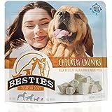BESTIES Dog Treats | Freeze Dried Chicken Chunks | 6.72 oz | Grain Free | Human Grade | One Ingredient | Healthy