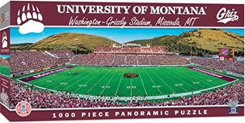 MasterPieces NCAA Montana Grizzlies 1000 Piece Stadium Panoramic Jigsaw Puzzle
