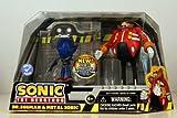 (US) Sonic the Hedgehog Action Figure 2Pack Dr. Eggman Metal Sonic Eggmans Revenge