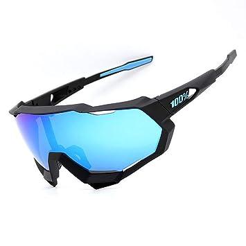 YDEYE Polarizadas Gafas de Sol Gafas de Ciclismo para Esquiar Golf Correr Ciclismo 100%UV 400 Deportivas Gafas(3 Lentes)