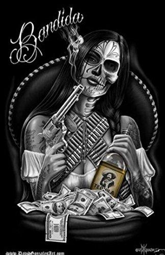 Amazon.com: DGA Dia De Los Muertos Day of the Dead Art Postcard Size ...