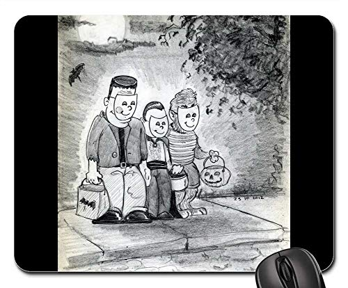 (Mouse Pads - Halloween Halloween Party Costume Scary)