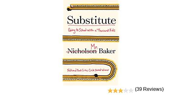 Amazon.com: Substitute: Going to School With a Thousand Kids eBook ...