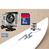 GoPro HD Surf Hero 2 (Latest Model) High Definition Waterproof Digital Camera + 8GB SD Card