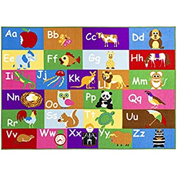 Amazon Com Home Must Haves Alphabet Educational Road Map