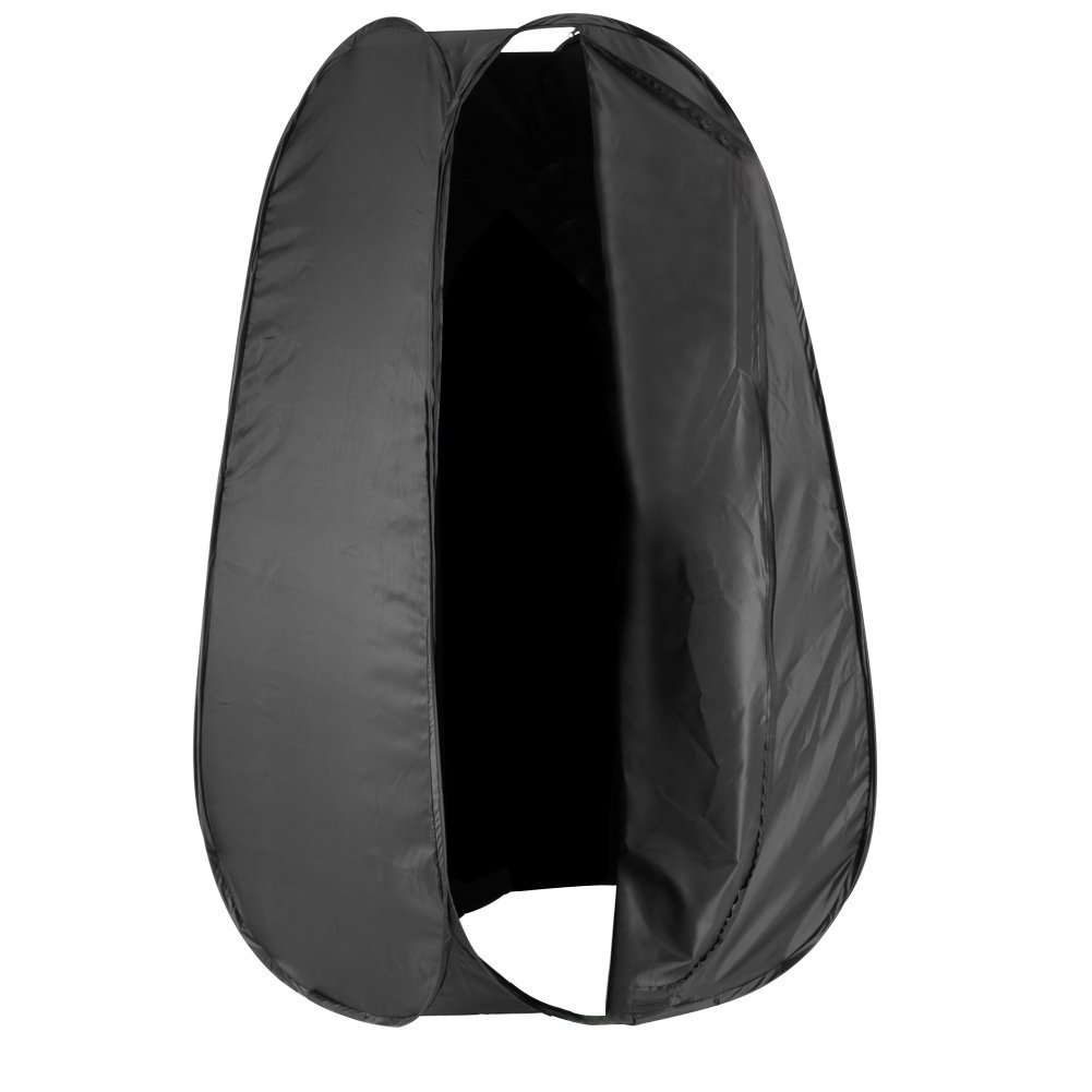 Neewer 7 Feet/213cm Collapsible Indoor/Outdoor Camping Photo Studio Pop Up Changing Dressing Tent Fitting Room with Carrying Case(Black) by Neewer