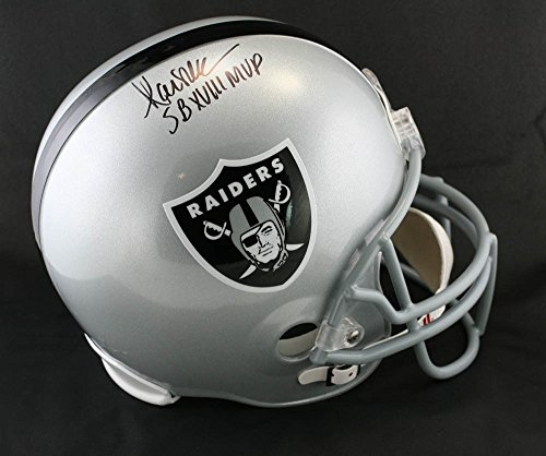 (Marcus Allen Autographed Signed Memorabilia Los Angeles Raiders F/S Helmet + Sb Mvp PSA/DNA Autographed Signed)