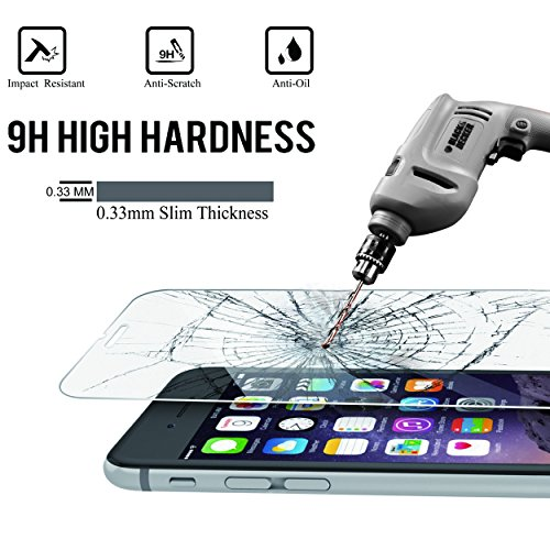 AILUN Screen Compatible with 6 6s Edge Glass,Anti-Scratch,Case Retail