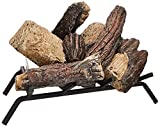 Sure Heat BRO18NG Sure Heat Burnt River Oak Vented Gas Log Set, 18-Inch, Natural Gas