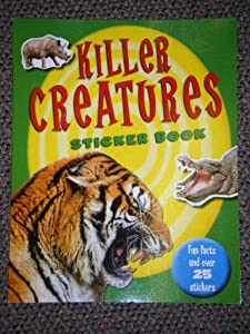Paperback Killer Creatures Sticker Book