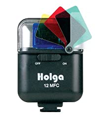 Holga Electronic Flash 12mfc With Color Filters
