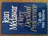 img - for A Very Decided Preference: Life With Peter Medawar book / textbook / text book