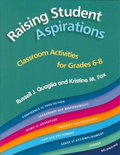 Raising Student Aspirations Grades 6-8: Classroom Activities