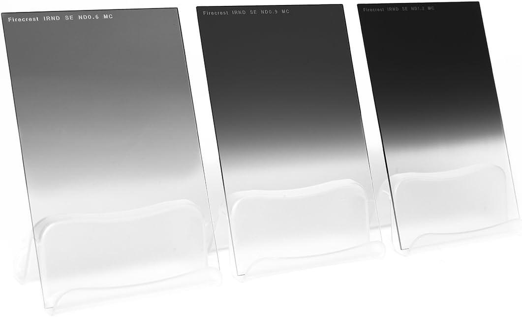 Pack of 3 Formatt-Hitech 67x85mm 1 to 3 Stops Firecrest Neutral Density Filter Kit