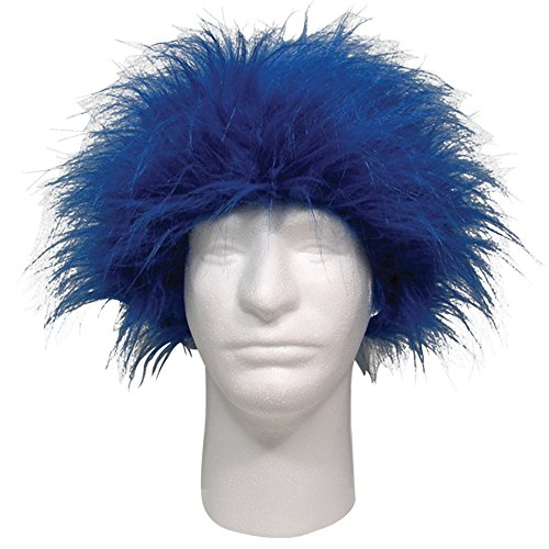 (Sports Novelties Wig, Blue)