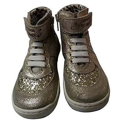Roberto Cavalli Shoe For Boys (Size 22) [Platino]