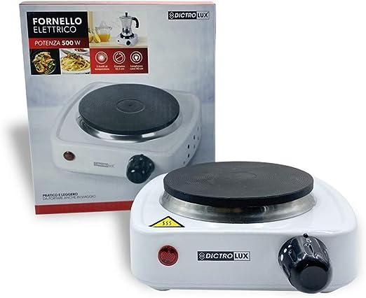 619902 Cocina electr. 1placa Dictrolux hierro fundido 500W ...