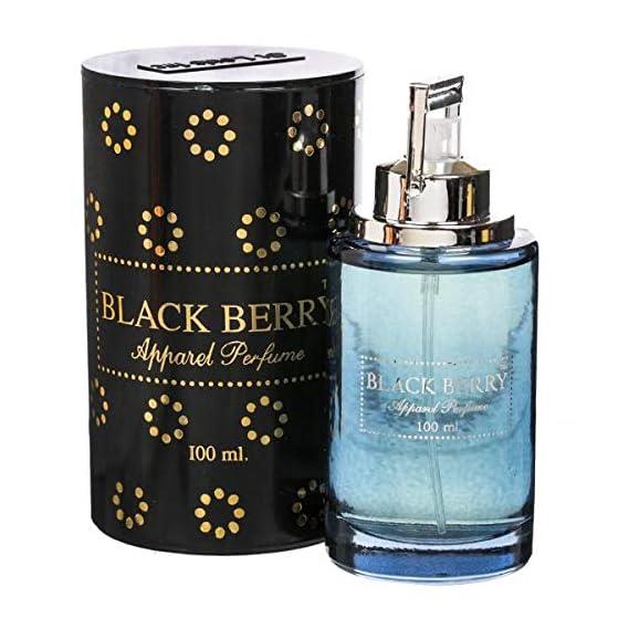St.LOUIS Black Berry Perfume Eau De Perfume for Men and Women (100 ml) Apparel Perfume/Tin Pack/Premium Quality/Free 10 ml Bottle Inside/branded product/fine fragrance.