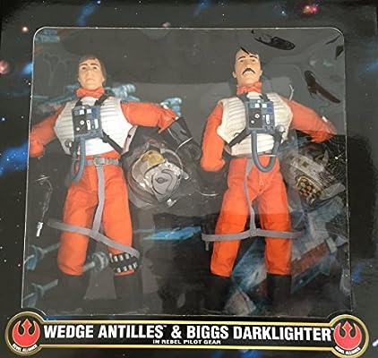 Wedge Antilles Biggs Darklighter In Rebel Hoth Gear 12 Action Figure Amazon Co Uk Toys Games