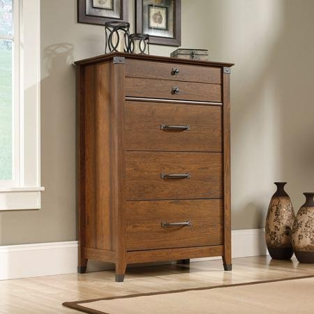 sauder-carson-forge-chest-of-drawers-washington-cherry