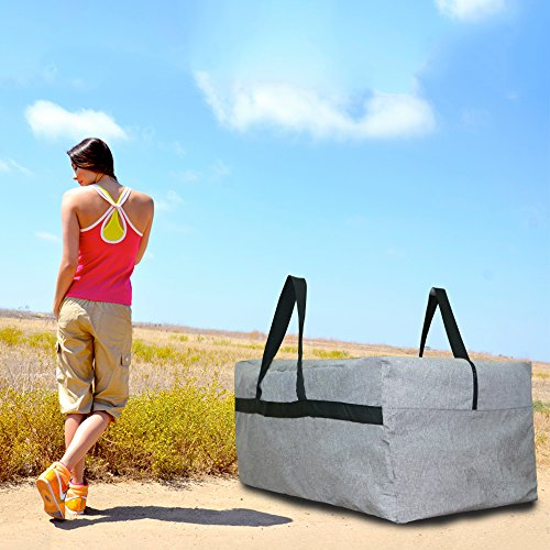 Kany Lightweight Large Storage Luggage Bag 100L Camping Traveling Outdoor Duffle Bag