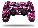 Vinyl Skin Wrap for Sony PS4 Dualshock Controller WraptorCamo Digital Camo Hot Pink (CONTROLLER NOT INCLUDED)