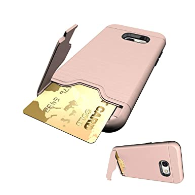 sale retailer 0f21f afc1a Asuwish Samsung Galaxy A3 2017 Case Phone Cases Wallet Shockproof ...