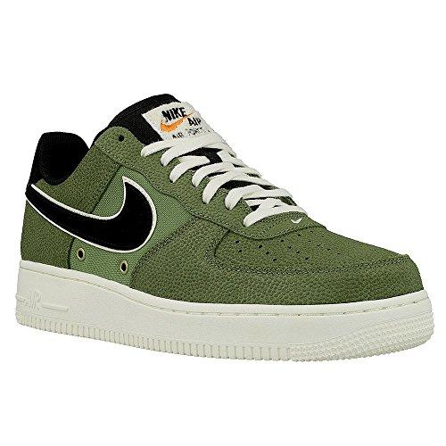 Nike Air Force 1 07 LV8-718152308 - Colore: Nero-Verde - Taglia: 45.5 Nero-Verde