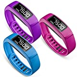 Best Replacement Silicones - SKYLET for Garmin Vivofit 2 Bands, Soft Silicone Review