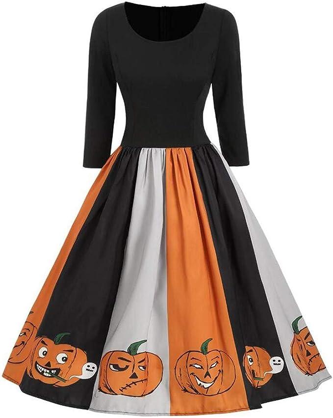 Disfraz de Halloween para Mujer, Estilo Vintage, Manga Larga, para ...