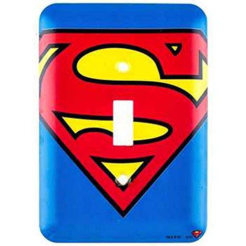 (DC Comics Superman Symbol Wall Light Switch Cover)