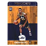 2017-18 Panini Hoops #263 Donovan Mitchell Utah Jazz Rookie Basketball Card