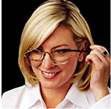 3 X Magnifying Makeup Glasses Eye Make Up Spectacles Flip Down Lens Folding Cosmetic Readers by SiamsShop