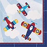 "Lil' Flyer Airplane Party Bundle 9"" Plates"