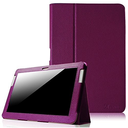 Fintie Slim Fit Folio Case Cover for Samsung Galaxy Tab 2 10.1 inch Tablet - Purple