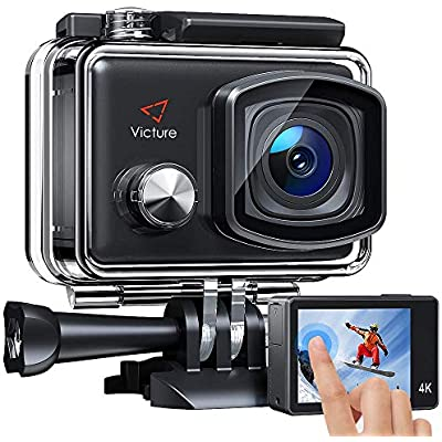 Victure AC900 Action Camera Touch Screen Wi-Fi 20MP Waterproof 30M Underwater Camcorder Ski Helmet Cameras