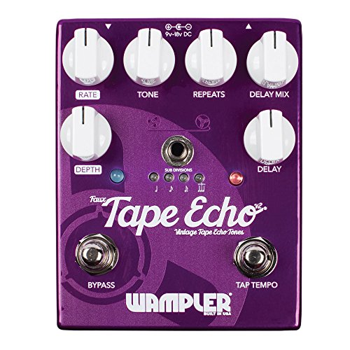 Wampler Faux Tape Echo V2 Delay Guitar Effects ()