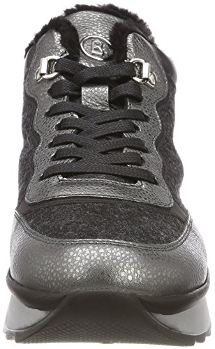 Bogner SAAS 79 Donna Anthracite Grigio 1p Fee Sneaker R6wdFRq