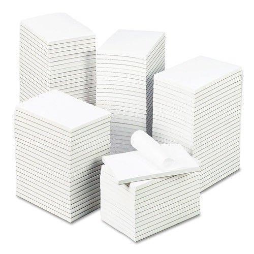Carton Pad (Universal One M9-35624 Bulk Scratch Pads, Unruled, 4 X 6, White, 100 Sheet Pads, 120 Pads/carton)